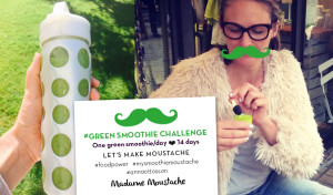 #Smoothiechallenge_lapp
